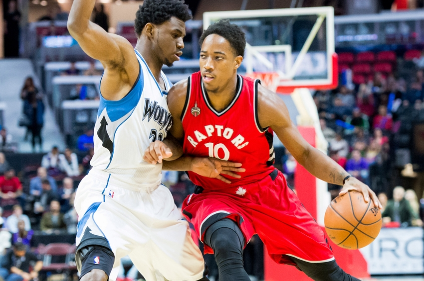 timberwolves vs raptors wolves looking to win 3 out of 4